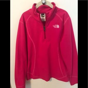 The North Face Bright Pink Fleece Pullover